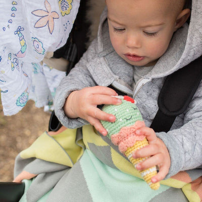 Weegoamigo Muslin Swaddle Wraps - Flowerbomb - Swaddle - Weegoamigo - Afterpay - Zippay Carry Them Close