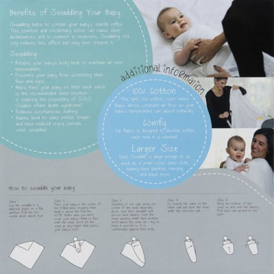 All4Ella Muslin Baby Swaddle Wraps & Pram Pegs Set - Spots & Monkey - Swaddle - All4Ella - Afterpay - Zippay Carry Them Close
