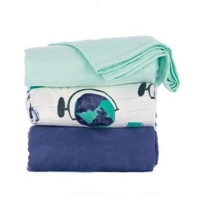 Tula Blanket - Wanderlust Set, , Baby Blankets, Tula, Carry Them Close  - 1