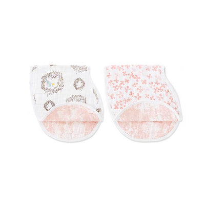 Aden and Anais - Burpy Bib (2 Set) - Birdsong