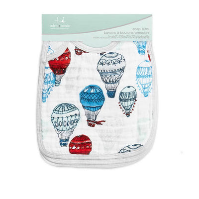 Aden and Anais - Snap Bib 3 Set - Dream Ride