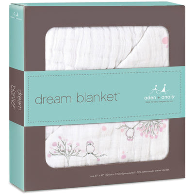 Aden and Anais - Dream Blanket For the Birds / Owl - Baby Blankets - Aden and Anais - Afterpay - Zippay Carry Them Close