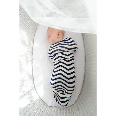 ErgoPouch - AirCocoon Summer Swaddle - Navy Chevron, , Swaddle, ErgoCocoon, Carry Them Close  - 1
