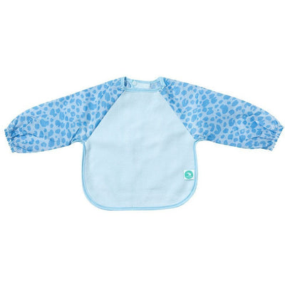 All4Ella Bibs Long Sleeve (Set 2) - Leopard Blue - Clothing - All4Ella - Afterpay - Zippay Carry Them Close