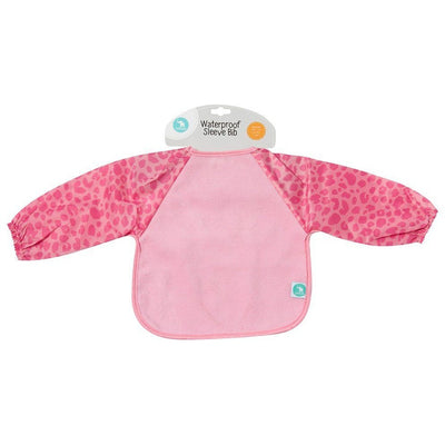 All4Ella Bibs Long Sleeve (Set 2) - Leopard Pink - Clothing - All4Ella - Afterpay - Zippay Carry Them Close
