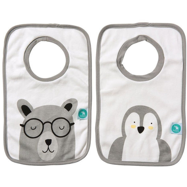 All4Ella Bibs Pull over Head (Set 2) - Penguin
