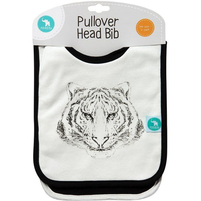 All4Ella Bibs Pull over Head (Set 2) - Alphabet Black - Clothing - All4Ella - Afterpay - Zippay Carry Them Close