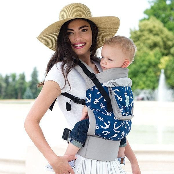 Lillebaby Essentials Original - Anchors (4months +), , Baby Carrier, Lillebaby, Carry Them Close