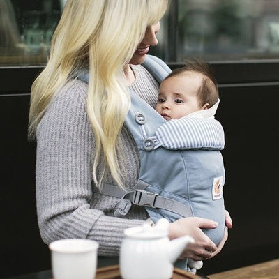 Ergobaby Adapt Carrier - Azure Blue, , Baby Carrier, Ergobaby, Carry Them Close  - 1
