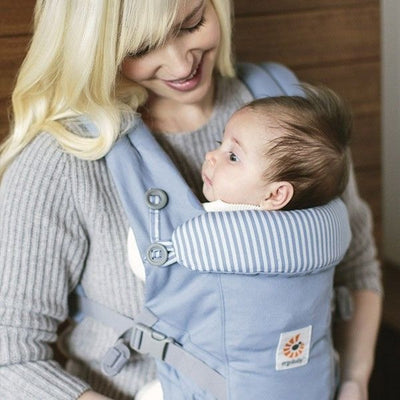 Ergobaby Adapt Carrier - Azure Blue, , Baby Carrier, Ergobaby, Carry Them Close  - 2