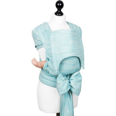 Fidella Fly Tai - MeiTai babycarrier Limited Edition - Heart Rows (Baby - Newborn +), , Mei Tai, Fidella, Carry Them Close  - 12
