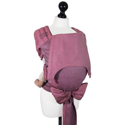 Fidella Fly Tai - MeiTai babycarrier Limited Edition - Lines pink (Baby Size from Birth) - Meh Dai - Fidella - Afterpay - Zippay Carry Them Close