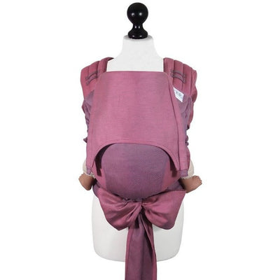 Fidella Fly Tai - MeiTai babycarrier Limited Edition - Lines Pink (Toddler Size) - Meh Dai - Fidella - Afterpay - Zippay Carry Them Close