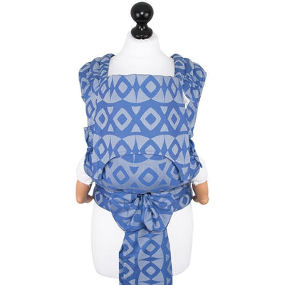 Fidella Fly Tai - MeiTai babycarrier Limited Edition Night Owl Blue (Baby Size - From Birth), , Mei Tai, Fidella, Carry Them Close  - 8