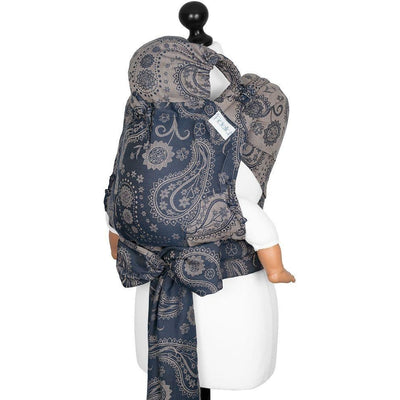 Fidella Fly Tai - MeiTai babycarrier Persian Paisley - desert night (Toddler) - Meh Dai - Fidella - Afterpay - Zippay Carry Them Close