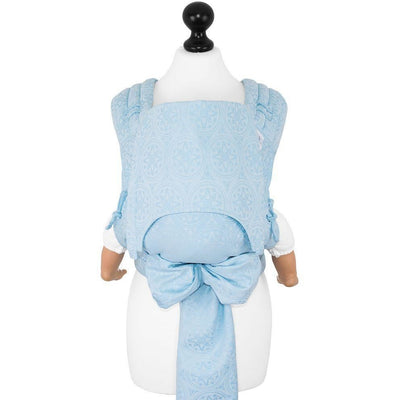 Fidella Fly Tai - MeiTai babycarrier Star Tile blue glass (Baby +) - Mei Tai - Fidella - Afterpay - Zippay Carry Them Close