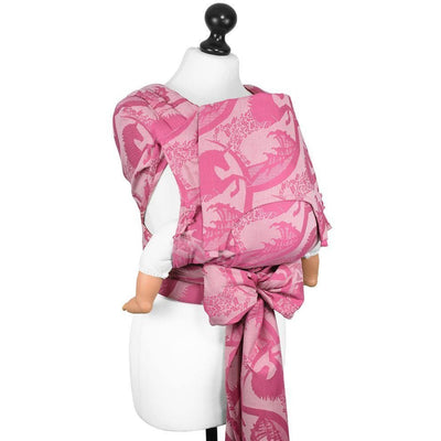 Fidella Fly Tai - MeiTai babycarrier Limited Edition Unicorn Tale Pink Rose (Baby Size - From Birth) - Meh Dai - Fidella - Afterpay - Zippay Carry Them Close