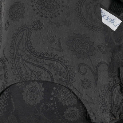 Fidella Fly Tai - MeiTai babycarrier Classic Persian Paisley Charming Black (Baby Size - From Birth)