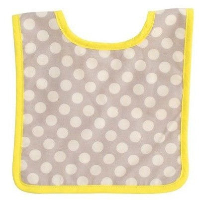 Alimrose - Fog Dot & Neon Yellow Bib - Clothing - Alimrose - Carry Them Close