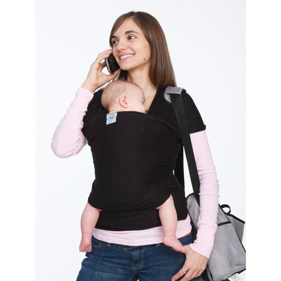 Moby Wrap - Black, , Stretchy Wrap, Moby, Carry Them Close  - 5