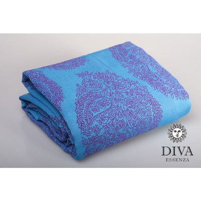 Diva Milano - Diva Essenza Ring Sling - Celeste - Ring Sling - Diva Milano - Afterpay - Zippay Carry Them Close
