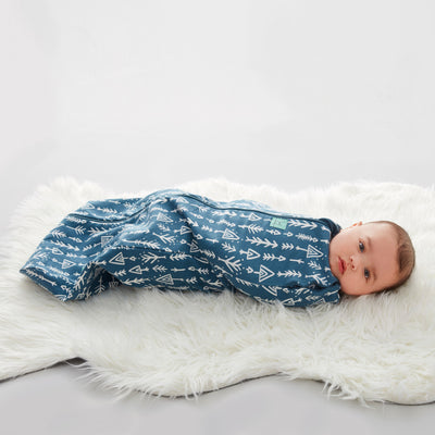 ErgoPouch - Ergo Cocoon Swaddle Bag (1.0TOG) - Midnight Arrows
