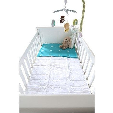 Brolly Sheet - Mattress Protector Quilted - Fitted Cot, , Bed, Brolly Sheets, Carry Them Close  - 1
