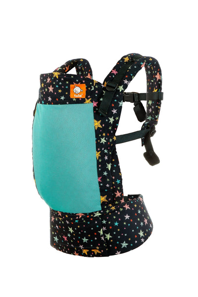 Tula Free-To-Grow Carrier -  Coast (Mesh) Rainbow Stars