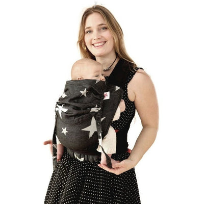 Kokadi Baby Size Flip - Diorite Stars - Baby Carrier - Kokadi - Afterpay - Zippay Carry Them Close
