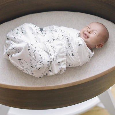 Ergobaby Swaddler - Sheep (One Size) - swaddle - Ergobaby - Afterpay - Zippay Carry Them Close