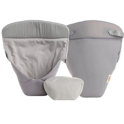 Ergobaby Infant Insert - Mesh Easy Snug - Grey - Carrier Accessories - Ergobaby - Afterpay - Zippay Carry Them Close