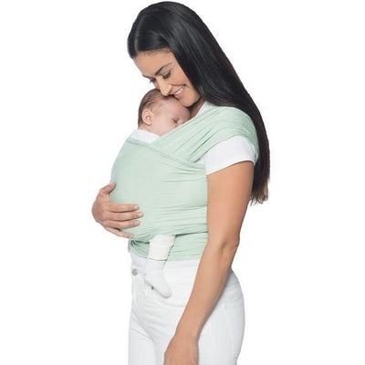 Ergobaby Lightweight Aura Stretchy Wrap - Sage - Stretchy Wrap - Ergobaby - Afterpay - Zippay Carry Them Close