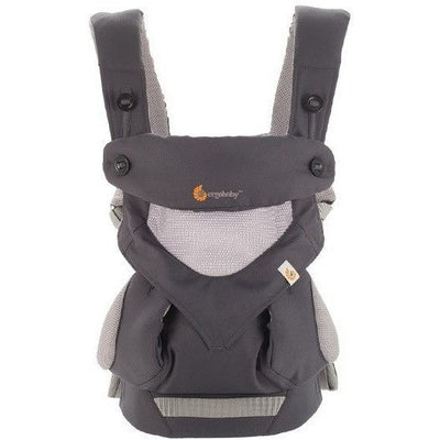 Ergobaby Performance Collection 360 Carrier - 'Cool Air' Carbon Grey - Baby Carrier - Ergobaby - Carry Them Close