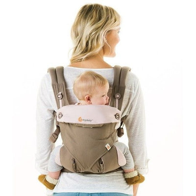 Ergobaby 360 Carrier - Taupe & Lilac - Baby Carrier - Ergobaby - Afterpay - Zippay Carry Them Close