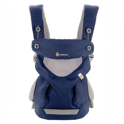 Ergobaby 360 Carrier - Cool Air Mesh French Blue - Baby Carrier - Ergobaby - Afterpay - Zippay Carry Them Close