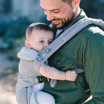 Ergobaby Omni Ergobaby 360 Carrier - Pearl Grey - Baby Carrier - Ergobaby - Afterpay - Zippay Carry Them Close