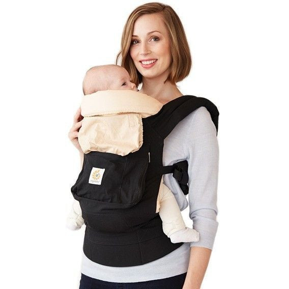 Ergobaby Bundle of Joy (Carrier + Insert) - black camel - Baby Carrier - Ergobaby - Carry Them Close