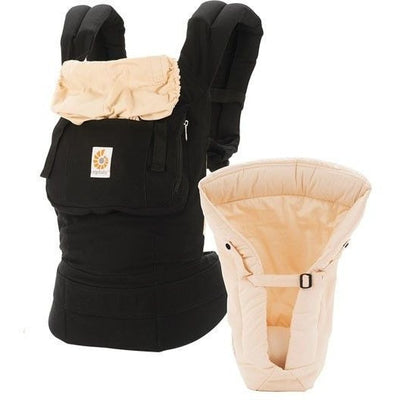 Ergobaby Bundle of Joy (Carrier + Insert) - black camel - Baby Carrier - Ergobaby - Afterpay - Zippay Carry Them Close
