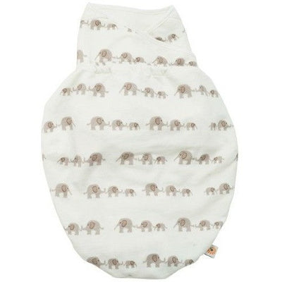 Ergobaby Swaddler - Elephant (One Size) - swaddle - Ergobaby - Afterpay - Zippay Carry Them Close