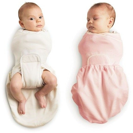 Ergobaby Swaddler - Pink + Natural 2 Pack, , swaddle, Ergobaby, Carry Them Close  - 1