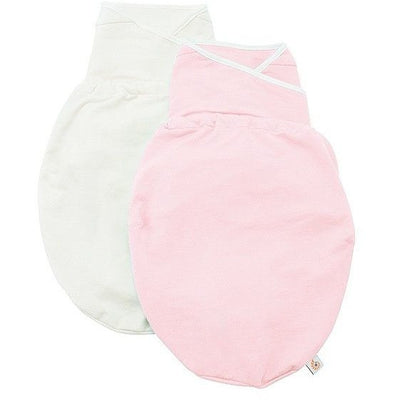 Ergobaby Swaddler - Pink + Natural 2 Pack - swaddle - Ergobaby - Afterpay - Zippay Carry Them Close
