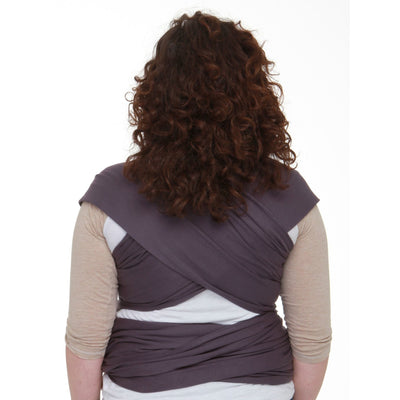Moby Wrap Organic - Eggplant, , Stretchy Wrap, Moby, Carry Them Close  - 5