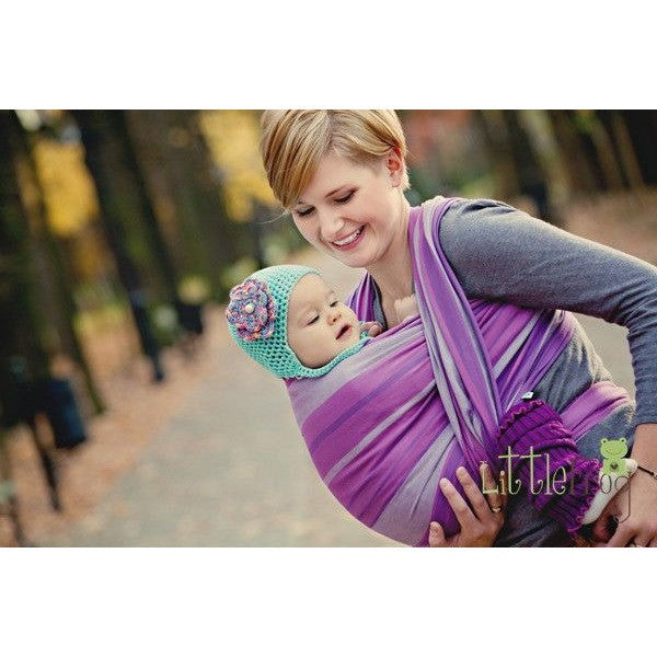 Little Frog Woven Wrap - Amethyst - Woven Wrap - Little Frog - Carry Them Close