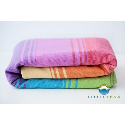 Little Frog Woven Wrap - Sandy Agate II - Woven Wrap - Little Frog - Afterpay - Zippay Carry Them Close