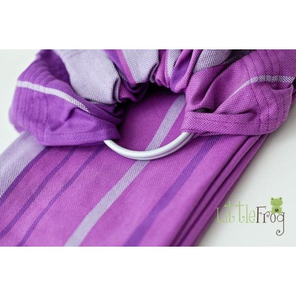 Little Frog Ring Sling - Amethyst, , Ring Sling, Little Frog, Carry Them Close