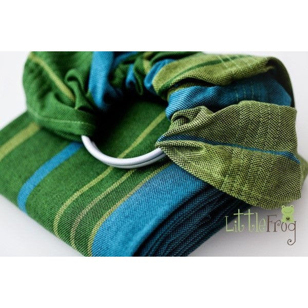 Little Frog Ring Sling - Azurite, , Ring Sling, Little Frog, Carry Them Close