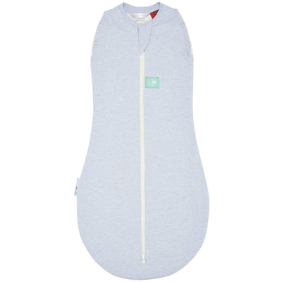 ErgoPouch - ErgoCocoon Summer Swaddle & Sleeping Bag (0.2TOG) - Tribal Blue, , Swaddle, ErgoCocoon, Carry Them Close  - 2
