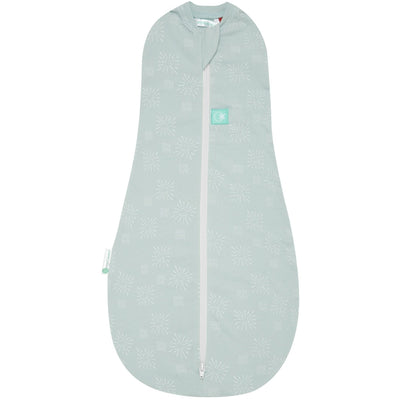 ErgoPouch - ErgoCocoon Autumn / Spring Swaddle & Sleeping Bag (1TOG) - Mint Star, , Swaddle, ErgoCocoon, Carry Them Close  - 3