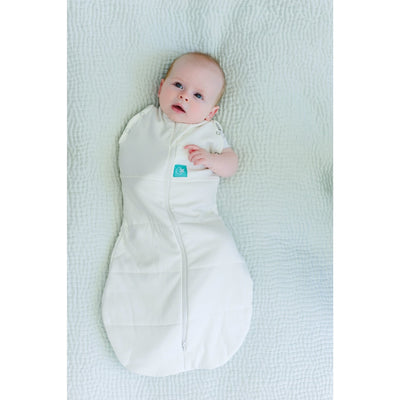 ErgoPouch - ErgoCocoon Winter Swaddle & Sleeping Bag (2.5TOG) - Natural, , Swaddle, ErgoCocoon, Carry Them Close  - 5