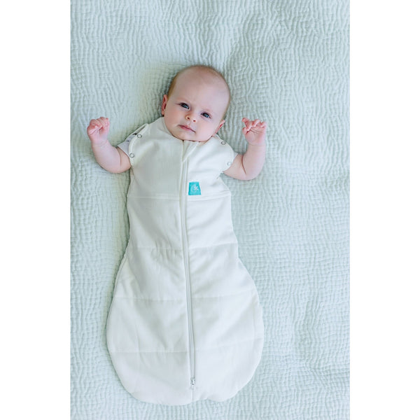 ErgoPouch - ErgoCocoon Winter Swaddle & Sleeping Bag (2.5TOG) - Natural, , Swaddle, ErgoCocoon, Carry Them Close  - 6